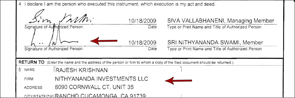 Nithyananda managed several hedge funds while in the U.S. on a religious visa.